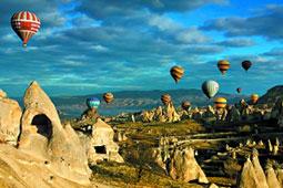 热气球下的土耳其
