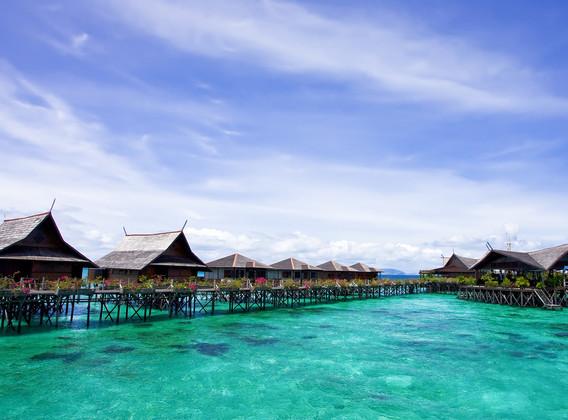 马来西亚仙本那5晚7天半自助【马航/仙本那+2晚马布岛沙滩屋/含接送】