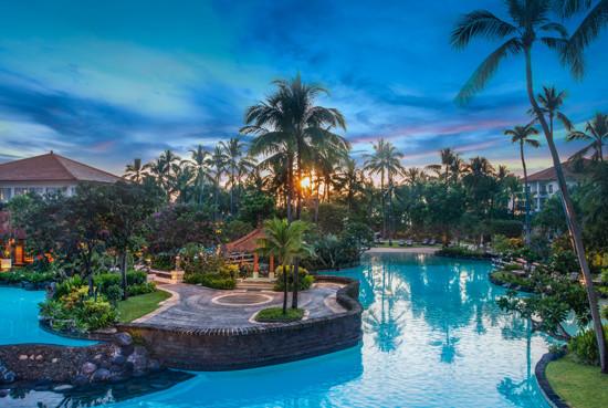 巴厘岛5晚7天百变自由行【拉古娜Laguna/东航直飞/5000平米礁湖泳池】