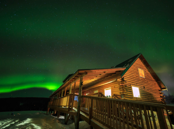 【极光之都 奇幻之旅】美国阿拉斯加1日游【费尔班克斯/北极光观测木屋】