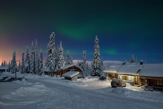 【仰望极光】芬兰&瑞典&爱沙尼亚9天 圣诞老人村/斯德哥尔摩地铁/北极博物馆/皇后岛/极地列车/斯德哥尔摩市政厅