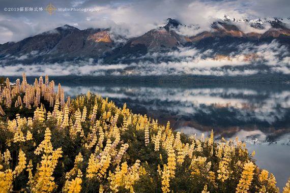 【遨游摄影】新西兰鲁冰花风光摄影15日游【新西兰深度/新拍摄区域/冰川、湖泊一个都不缺】