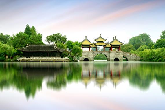 【乡居】扬州悠闲4日游【扬州瘦西湖/何园+个园/扬州早茶/扬州世博园】